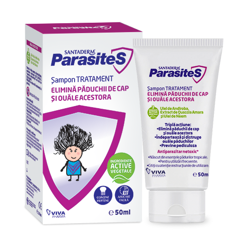 SAMPON TRATAMENT PADUCHI (50 ml ) - Vitalia Pharma