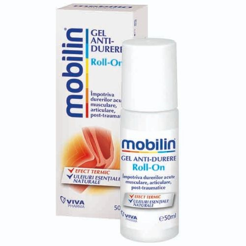 MOBILIN ANTI-DURERE ROLL-ON (60 ml) - VivaPharma
